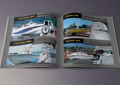 Diseño Gráfico: Catálogo Victory