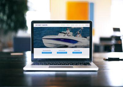 Página Web: victoryyachts.com.br