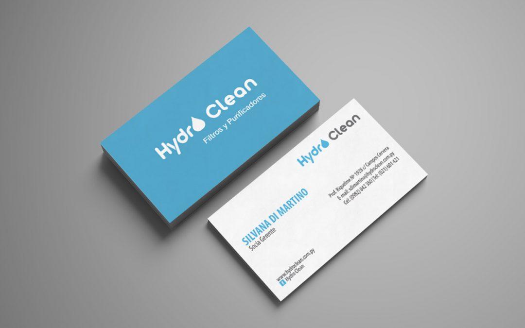 Diseño gráfico: logotipo Hydro Clean