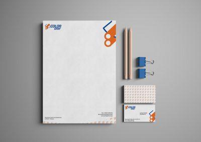 Diseño gráfico: logotipo Colorgraf