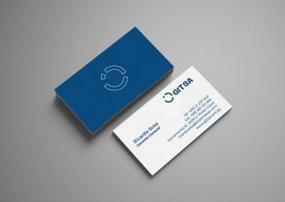 Diseño gráfico: logotipo Gitsa